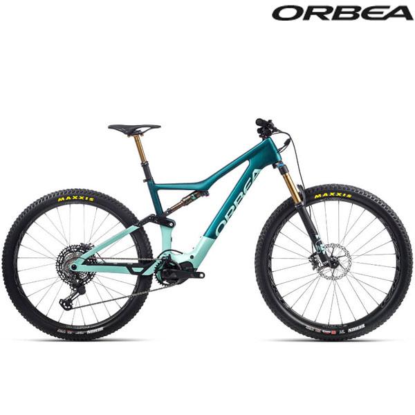 ORBEA(オルベア)RISE(ライズ)M LTD 20MPH E-Bike(アイスグリーン(グロス)/オーシャン(マット))