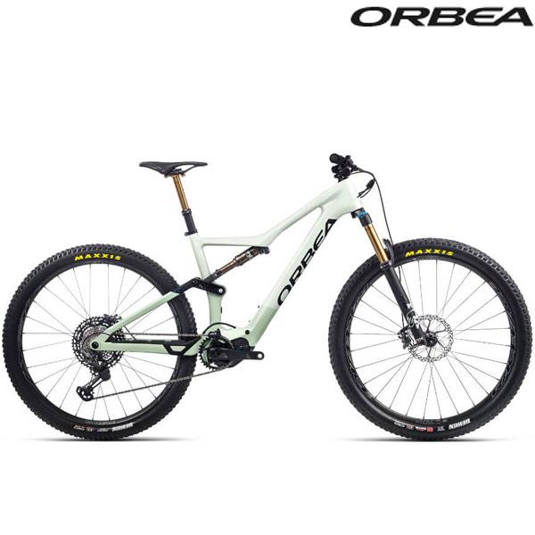 ORBEA(オルベア)RISE(ライズ) M LTD 20MPH E-Bike(サップホワイト/グリーンフォグ(グロス))