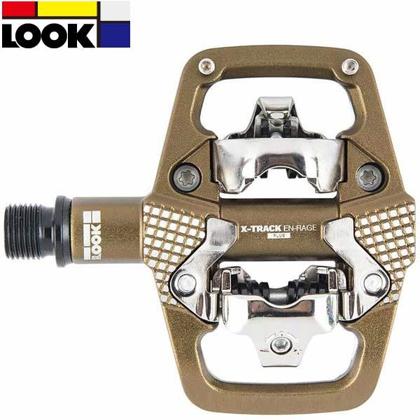 LOOK(ルック)X-TRACK(エックストラック)En-Rage Plus(アンレージプラス)MTBペダル(ブロンズ)