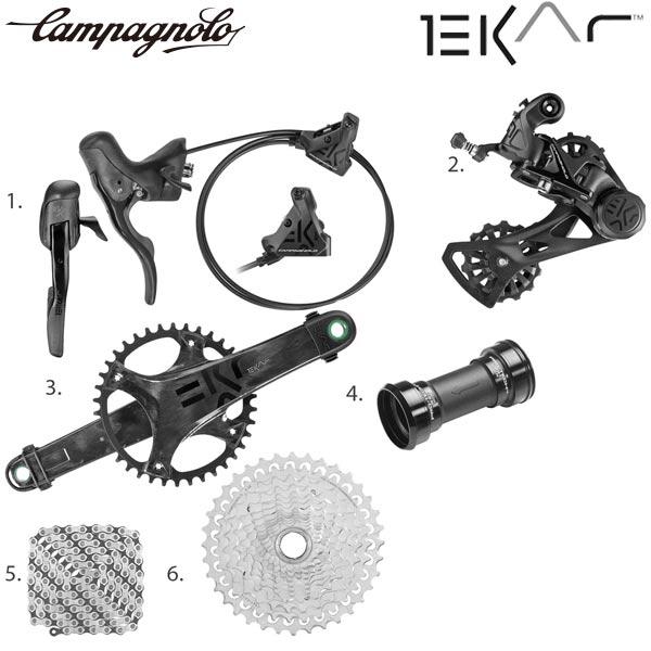 Campagnolo(カンパニョーロ)EKAR(エカル)グループコンポセット(1×13)