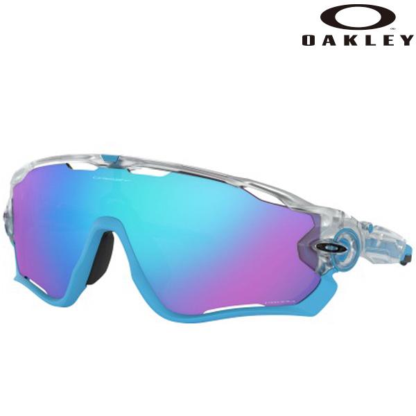 OAKLEY(オークリー)JAWBREAKER(ジョウブレイカー)サングラス(Crystal Clear/Prizm Sapphire)