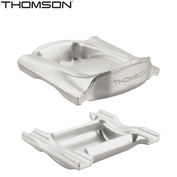 THOMSON(トムソン)サドルレールクランプ(オーバーサイズ/7×10/シルバー)