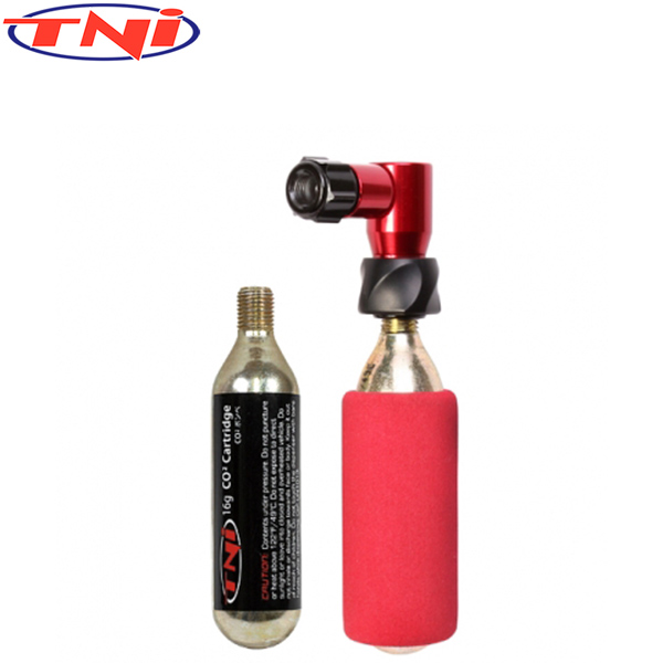 TNi(ティーエヌアイ)CO2 ボンベセット(バルブタイプ)