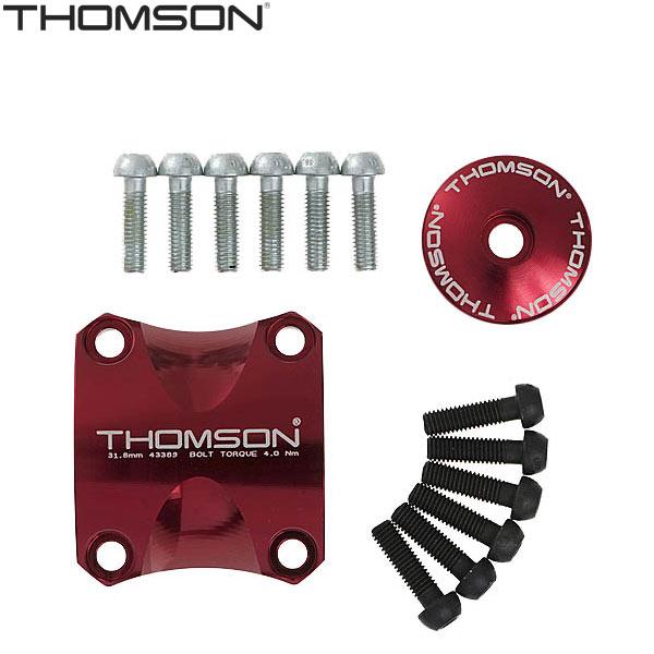 THOMSON(トムソン)X4ステム ドレスアップキット(レッド)