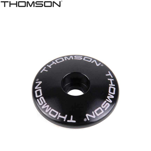 """THOMSON(トムソン)ステムキャップ(1-1/8""""/ブラック)"""