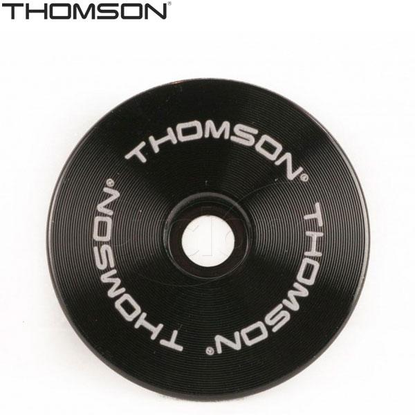 """THOMSON(トムソン)ステムキャップ(1.5""""/ブラック)"""