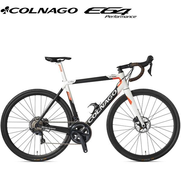 COLNAGO(コロナゴ)E64 E-BIKE(COMPLETE BIKE(完成車))(ULTEGRA/ホワイト/オレンジ)