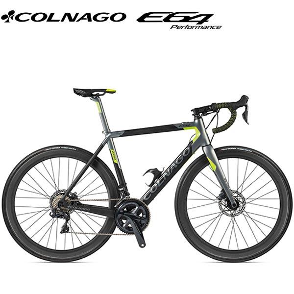 COLNAGO(コロナゴ)E64 E-BIKE(COMPLETE BIKE(完成車))(ULTEGRA/アンスラサイト/グリーン)